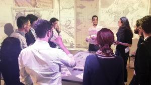 Présentation d'AGILIS, en présence de Jean-Baptiste Bouché. Dans l'Immersarium, les participants vivent un vrai voyage !