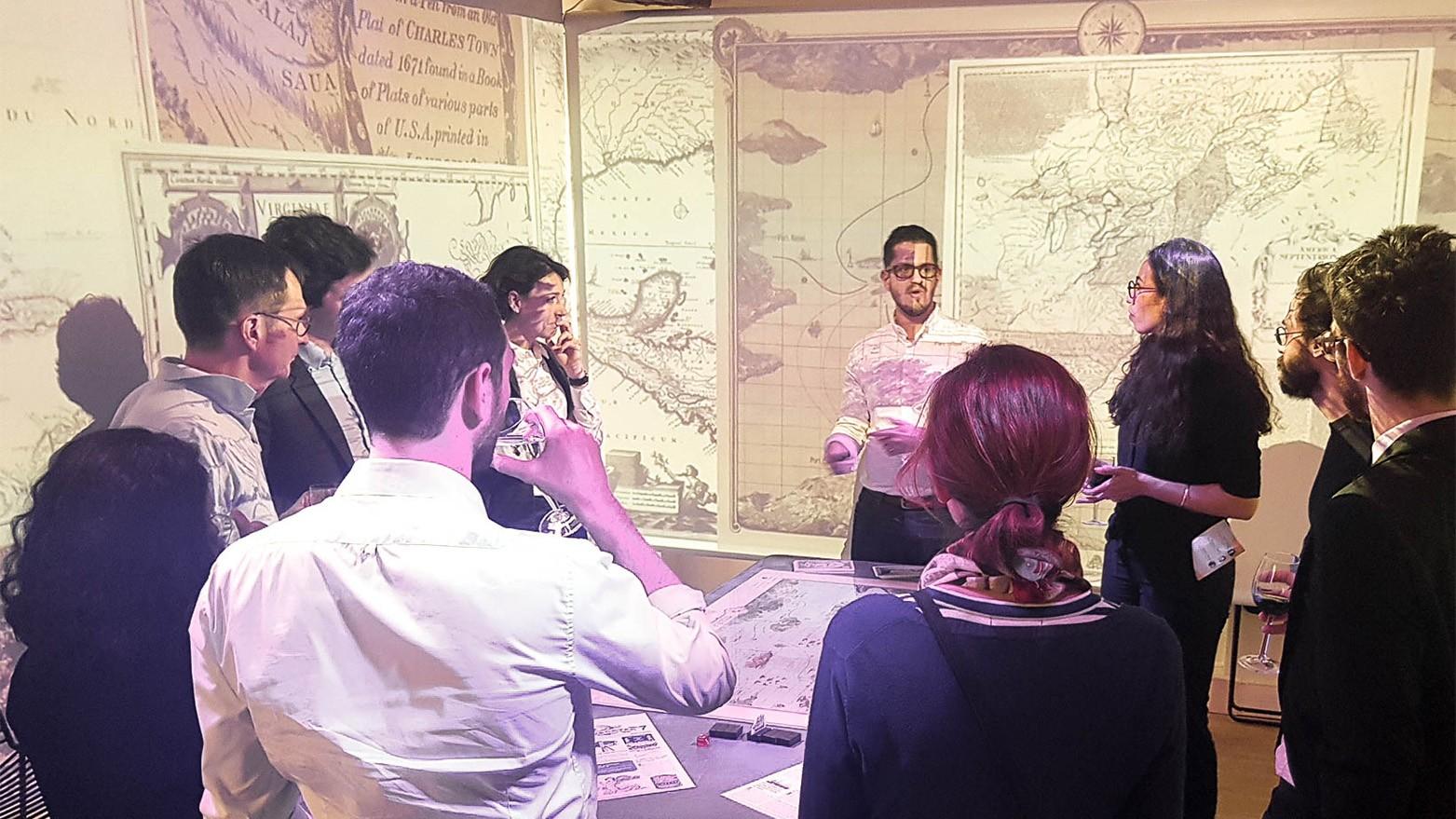 Présentation d'Agilis, notre SeriousGame sur le thème de l'agilité en présence de Jean-Baptiste Sultan, co-développeur du jeu. Dans l'Immersarium, les participants vivent un vrai voyage !