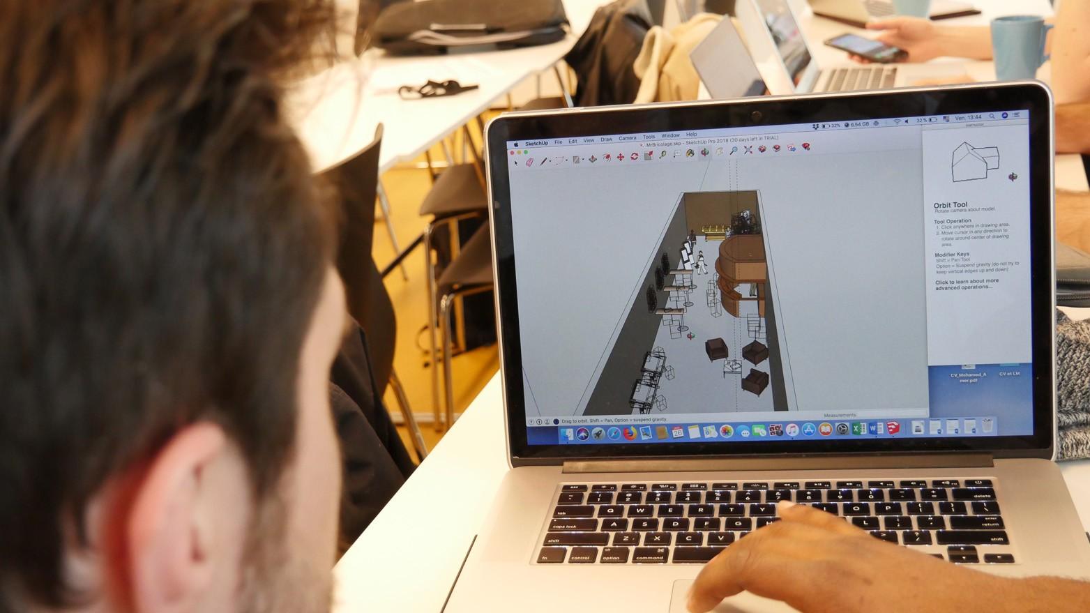 Réalisation d'une pièce en 3D à l'aide d'une solution simple sans coder.