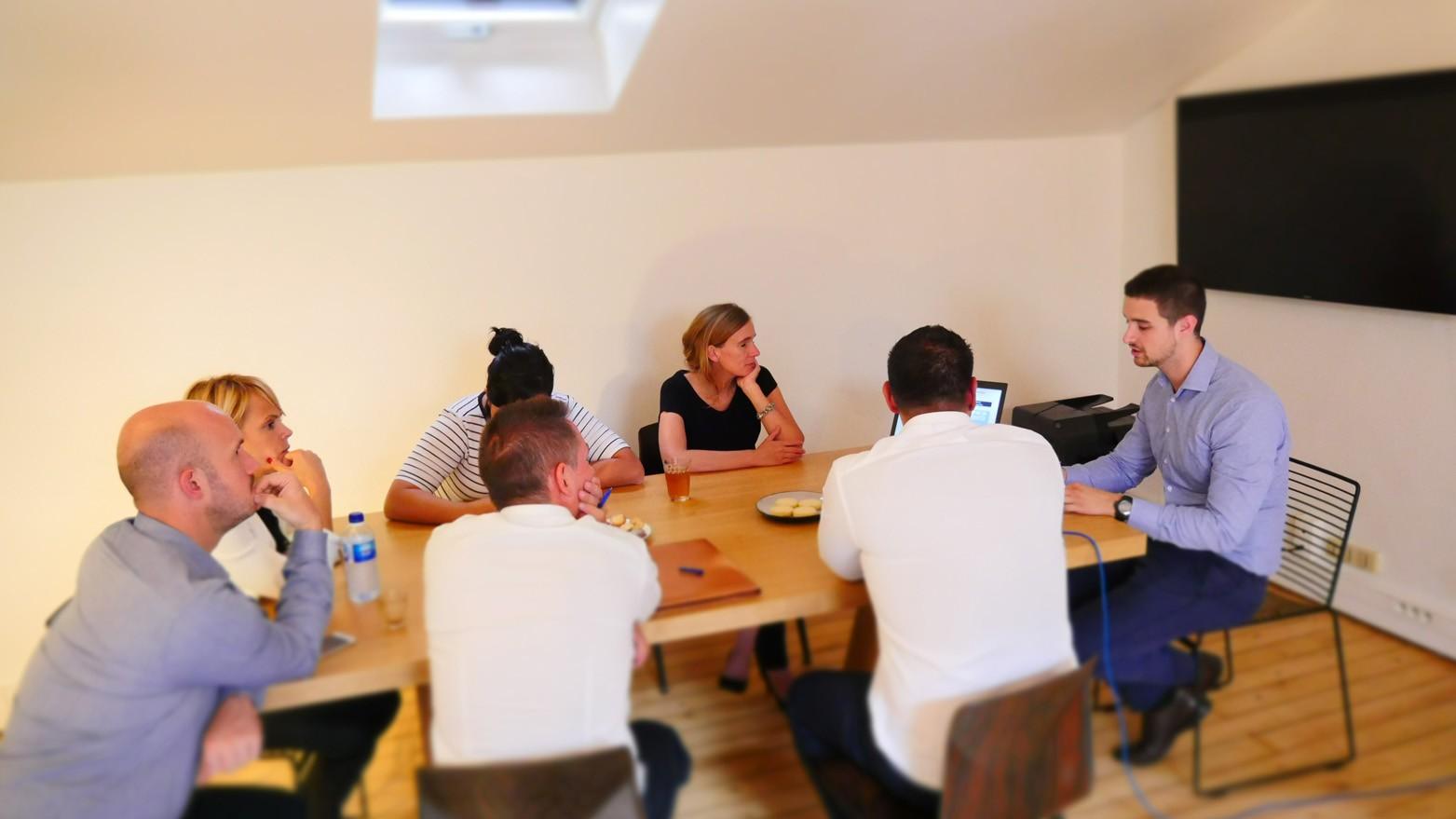 Formation d'une équipe d'Innovateurs