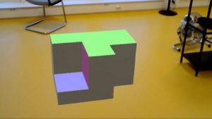 Insertion d'un objet 3D dans un environnement réel grâce à la Réalité Augmentée